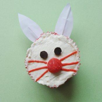Muffin de conejito de Pascua