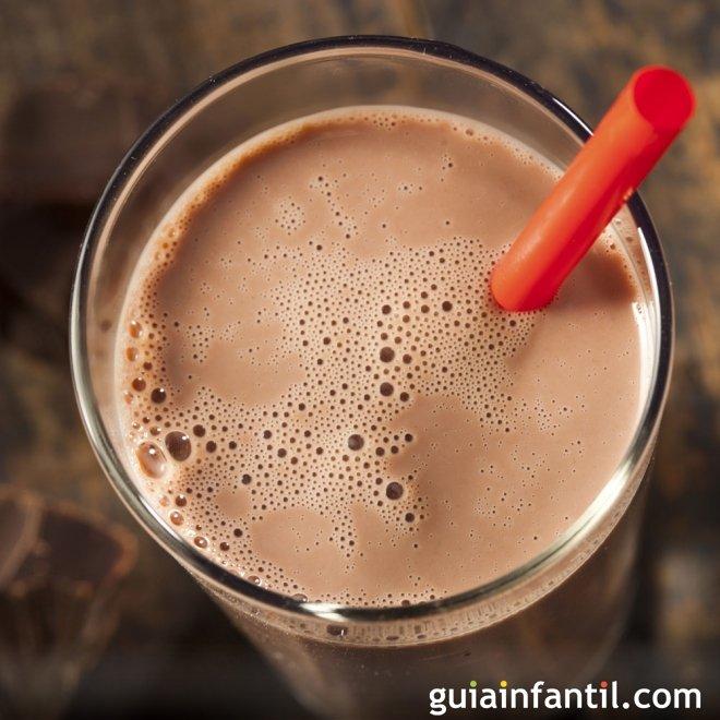 Batido de chocolate casero. Un sabor clásico