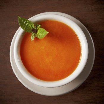 Sopa de tomates cherry