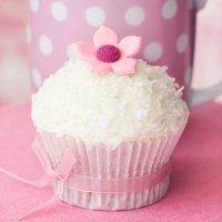 Cupcakes de coco, sabor tropical