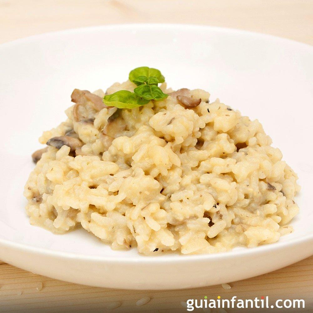 Recetas de risotto cocina italiana para ni os for Como cocinar risotto