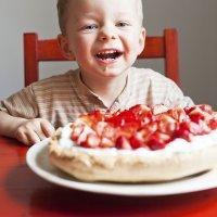 Recetas con fresas para niños