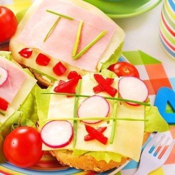 Sandwich Tres en raya