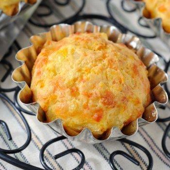 Muffins de calabaza con queso