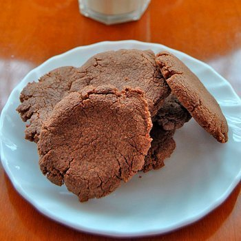 Galletas de nocilla o nutella