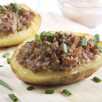 Patatas con carne picada