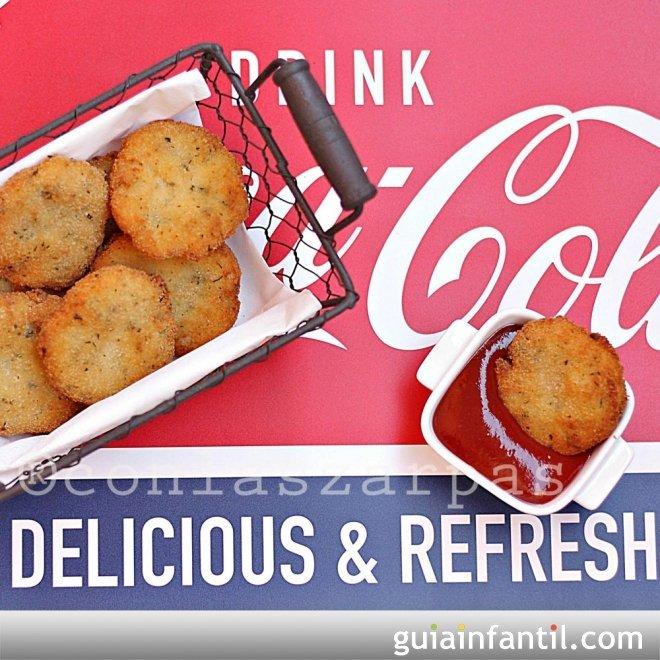 Nuggets de pollo. Receta fácil y sabrosa para niños