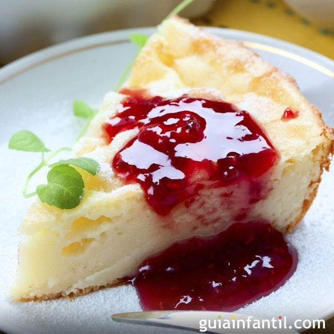 Tarta de queso tradicional, receta de New York Cheesecake