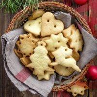Galletas navideñas de miel sin gluten ni lácteos