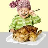 Recetas de pollo para niños. Platos fáciles y económicos
