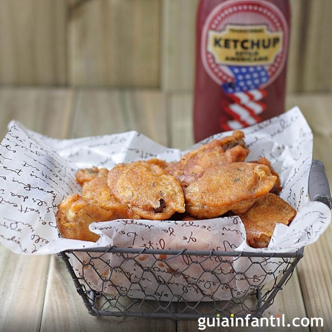 Pollo estilo Kentuky. Recetas de pollo para niños
