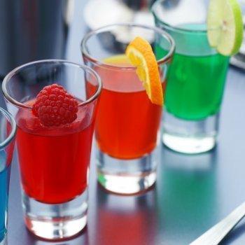 Gelatinas con zumo de frutas