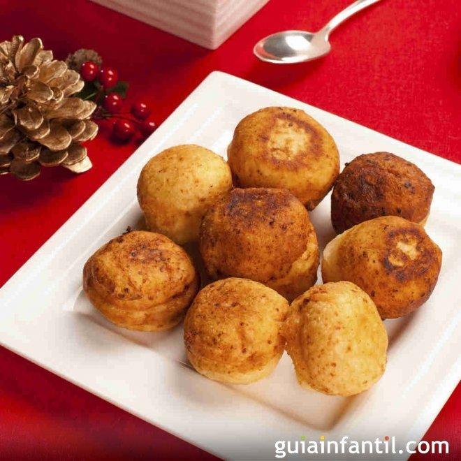 Buñuelos colombianos. Receta de Navidad para niños