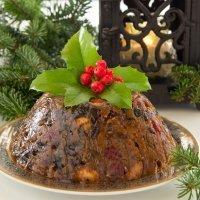 Receta de pudding inglés de Navidad
