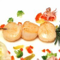 Brochetas de calamar a la plancha, cena rápida y sana