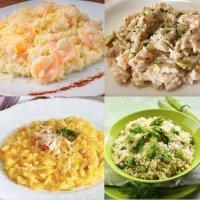 Recetas de risottos. Cocina italiana para niños
