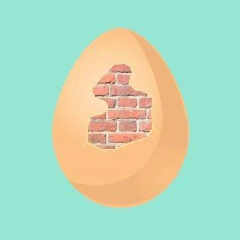 Cuanto peso puede aguantar un huevo. Experimentos para niños