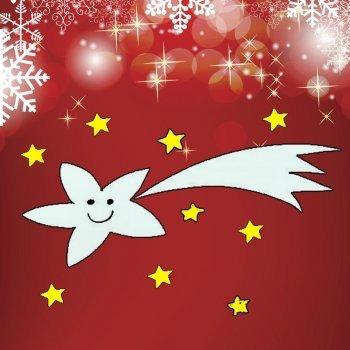 Enseña a dibujar una estrella de Navidad a los niños