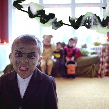 Cómo hacer una guirnalda de murciélagos para Halloween