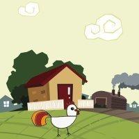 Cómo dibujar un gallo. Dibujos de la granja para niños