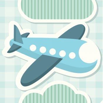 Cómo dibujar un avión. Dibujos de transportes para niños