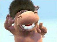 Hipopótamo canta y baila 'Freedom'