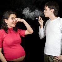 Campaña en contra de fumar en el embarazo
