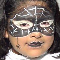 Maquillaje de fantasía de Araña