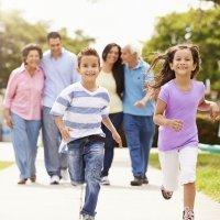 La familia en lengua de signos para niños