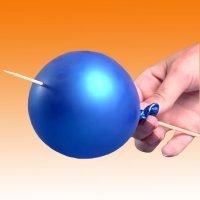 Ciencia fácil. Pinchar un globo sin que se explote