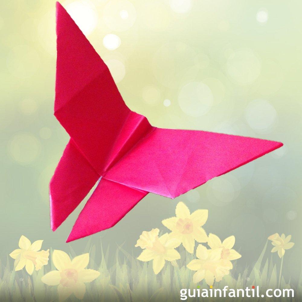 Pin pictures puntadas a gancho para chambritas filmvz - Como hacer mariposas de papel ...