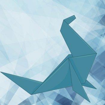 Foca de origami