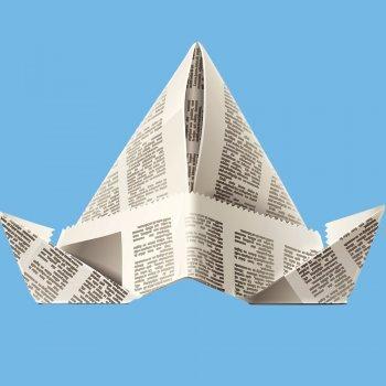 Gorro de papel