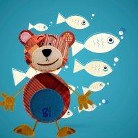 Los peces en el río. Villancico en karaoke para los niños