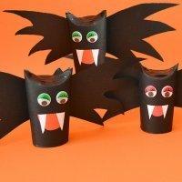 Murciélagos de Halloween para decorar
