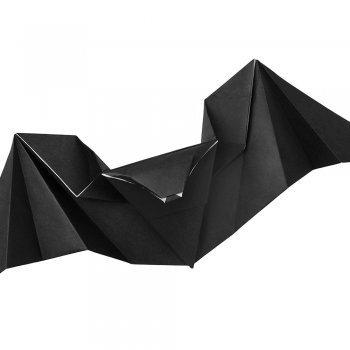 Murciélago de papel