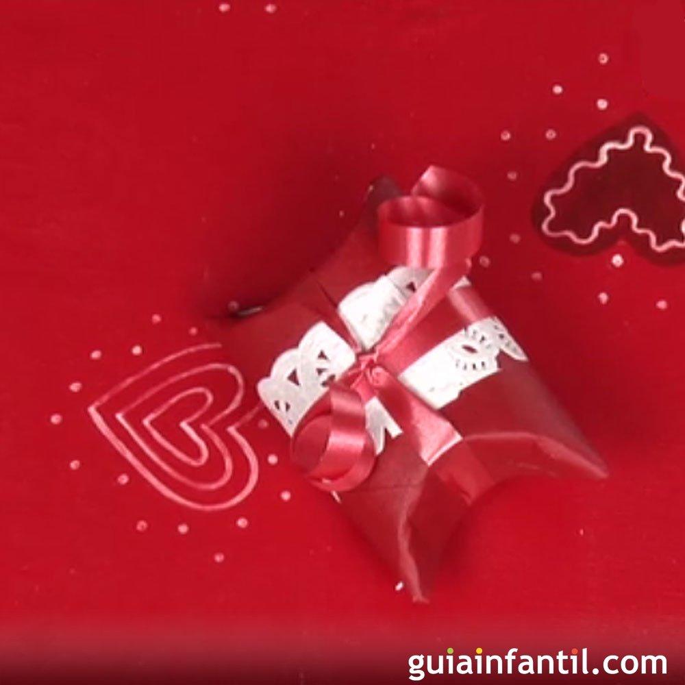 Envoltorios para regalos de navidad con material de reciclaje - Envoltorios para regalos ...