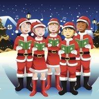 Cantemos a María. Canción de Navidad. Coro de niños