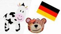 Los animales de la granja en alemán