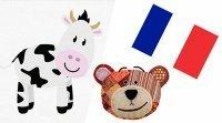 Los animales de la granja en francés