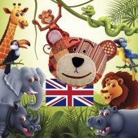 Los animales de la jungla en inglés. Aprende sus nombres y sonidos