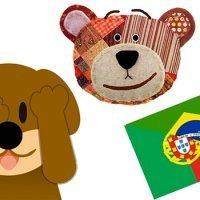 Adivinanzas en portugués para niños. Vídeos de Traposo