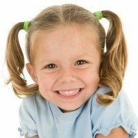 Cómo hacer dos coletas, peinados para niña