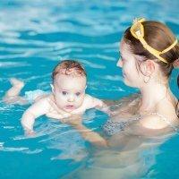 Aprendizaje y ejercicios en el agua, sin material