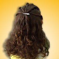 Recogido para pelo rizado, ideas de peinados