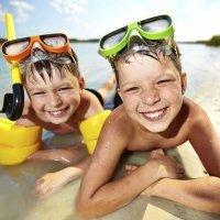 Por qué es sensible la piel de los niños al sol