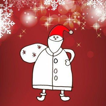 Enseña a tu hijo a dibujar a Papá Noel