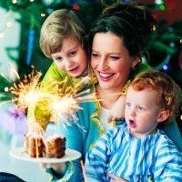 Propósitos de año nuevo de los padres para sus hijos