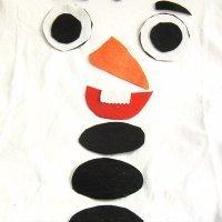 Aprende a hacer un disfraz de Olaf para los niños