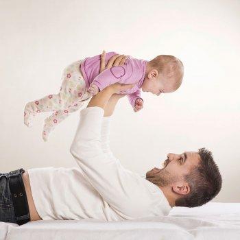 Cuando el bebé dice papá por primera vez